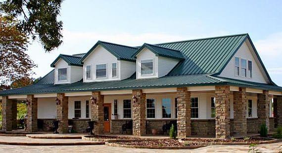Telhado de a o de casas pr moldadas casa pr moldada for Sheet metal house plans