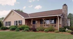 Modelo de casa pré-moldada